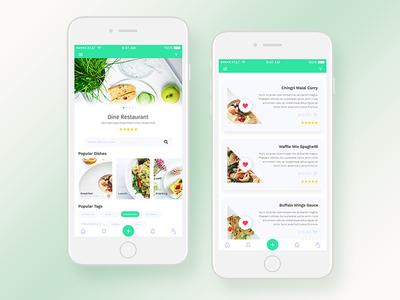 Food Restaurant IOS app