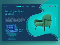 Furniture website-Header Concept