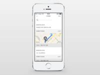 MANGO iPhone app - Stores