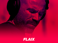 Conceptual image for FLAIX app - A new radio concept