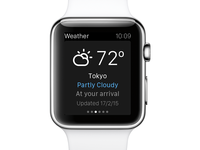eDreams Apple Watch App - Weather
