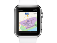eDreams Apple Watch App - Airport
