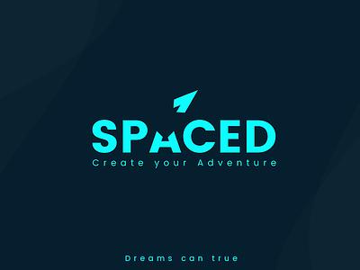 SPACED Logo #spacedchallenge spacedchallenge spaced space moon logotype logo branding
