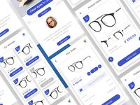 Glasses-Lens App UI