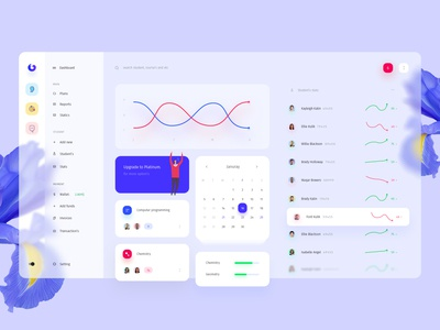 Dashboard for Education Platform