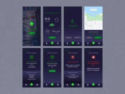 Can I Park? App Design