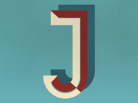 J Monogram Design