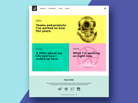 Personal Portfolio Site Design