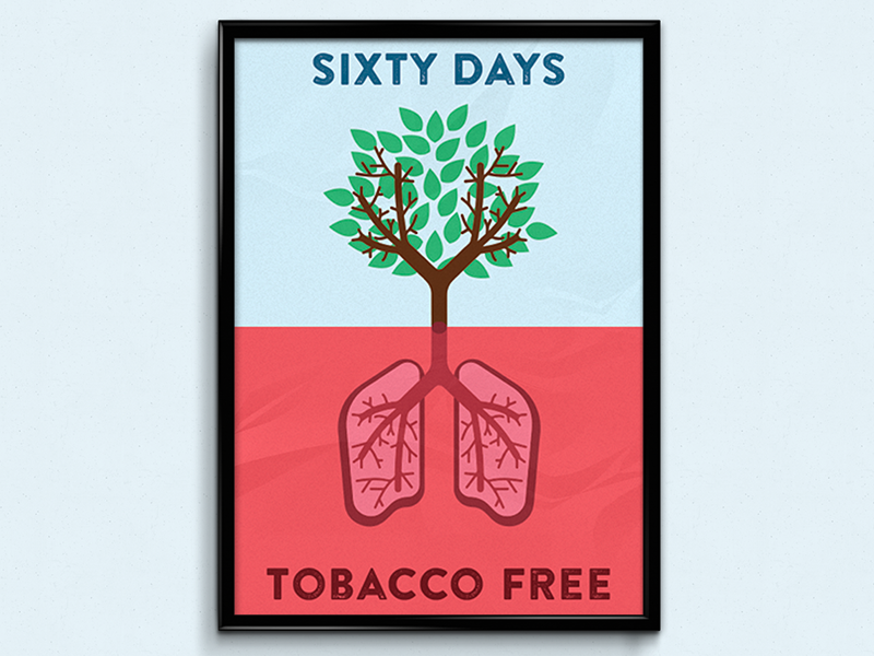 Creative Poster About Smoking