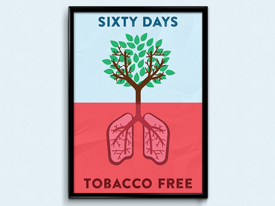 No Smoking Poster Design