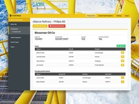 Oil Safety App Interface Design