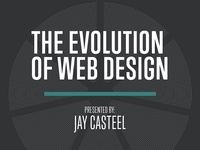 Evolution of Web Design Presentation Slides