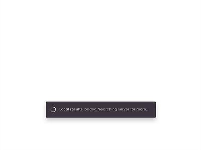 Status bar container animation loader demo cursor user status notification ecommerce ipad tablet uiux prototype animation simple web clean product design minimal ux app ui