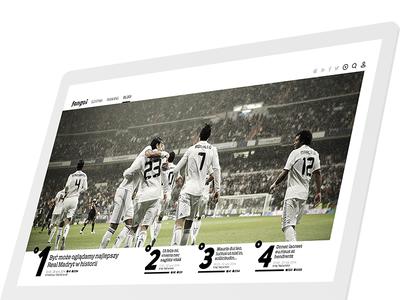 Fangol blog post graphics design graphic ui ux webdesign web website blog football soccer