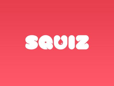 Squiz! branding minimalism branding brand mark logotype stationery identification id type logo typography naming