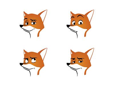 Oh, it's you again illustration vector art drawing fox vector character app brandig mascot