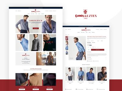 Men Fashion E-Commerce Project