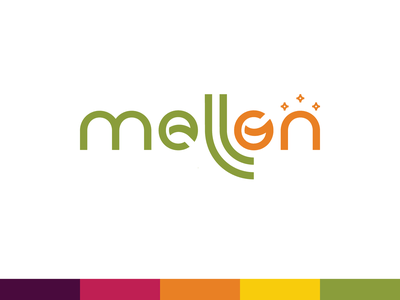 Mellon gate access coworking app mellon naming branding brand logo