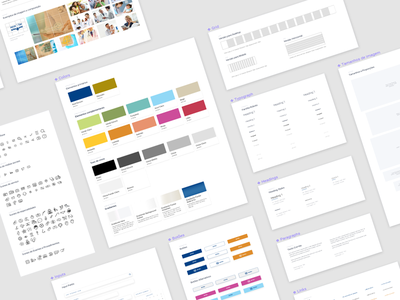 Rede D'Or Design System Sneak Peak ux wip figma design system model sheet system branding design ui brand