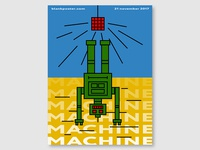 "Blankposter ""Machine"""