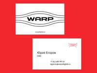 WARP Business cards