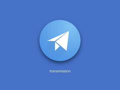 Transmission design logo icon ui