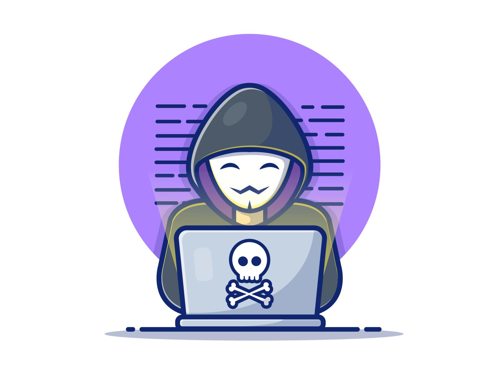 Hacker dribbble 01