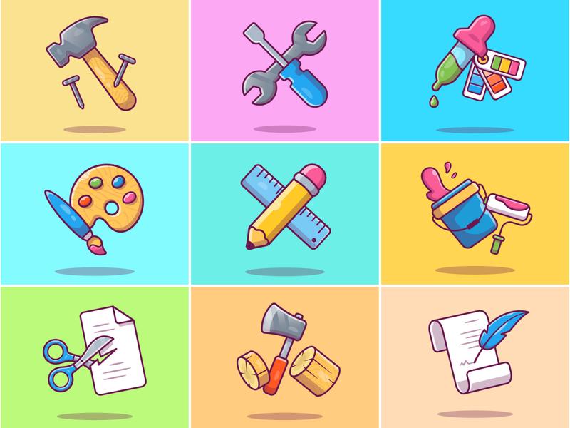 Tools 🛠✂✏📏