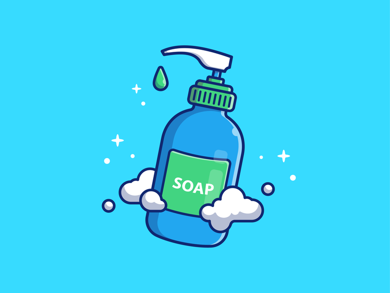 dont forget to wash your hand today! 🧼👋🙌 liquid hygiene foam water vector logo icon illustration cleaner bacteria covid-19 virus coronavirus corona bubbles froth soap shampoo hand wash