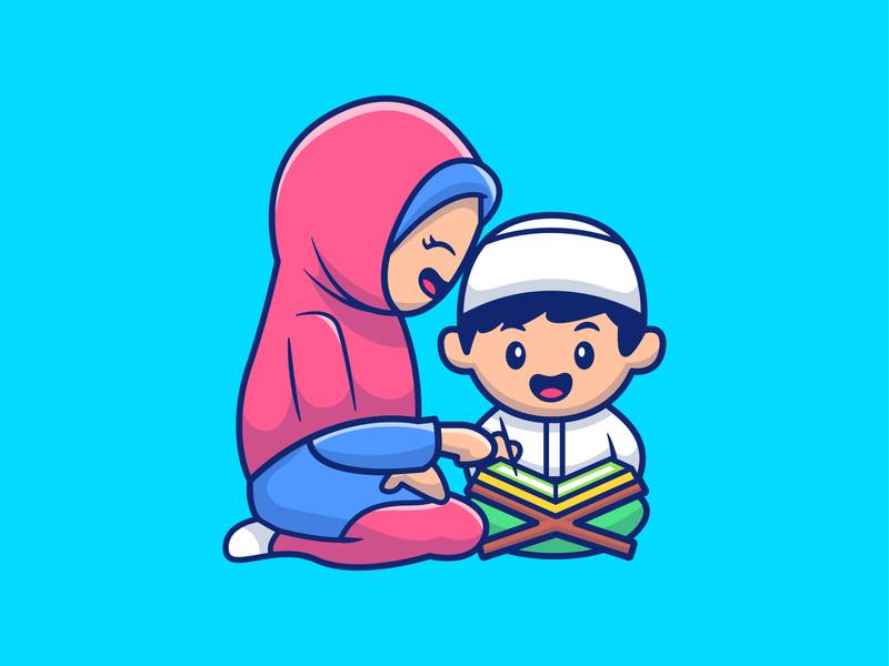 Ramadan Mubarak  🤗❤️ icon illustration logo character mascot cartoon cute religion god pray read quran allah islam moslem eid ramadhan ramadan mubarak ramadan kareem ramadan