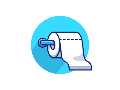before - after 😹🧻💸 white soft bathroom hygiene clean health cartoon logo vector icon illustration price expensive dollar roll paper toilet tissue paper money tissue