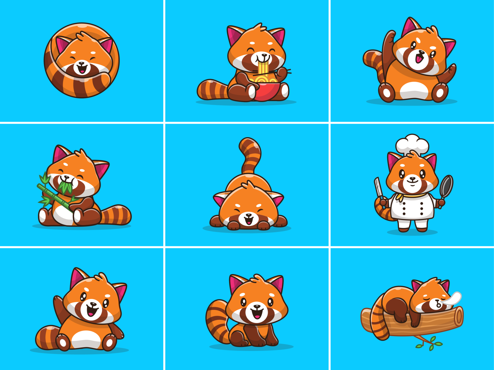 Red Panda By Catalyst On Dribbble