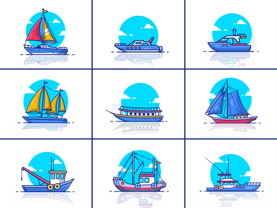 boat ship ⛵🛥️🚢⚓ motorboat beach sailboat marine speedboat vessel transport sky yacht transportation ocean summer vacation travel sea logo icon illustration ship boat