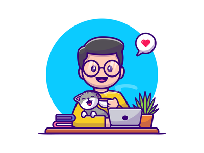 people and animal 🧑👩❤️😺🐶🐴 woman girl boy man character eat game laptop mascot logo icon illustration cute horse dog lover cat pet animal people