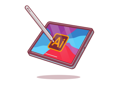 It's finally here, illustrator for iPad is out now! ✍🏼 ✒️😸 touchscreen vector digital device app apple screen design technology gadget logo icon illustration pen tablet drawing adobe illustrator adobe ipadpro ipad