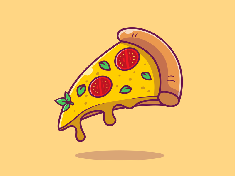 Flying fast food🍔🍕 burger breakfast tacos taco hotdog icecream donuts noodle pizza cute food flying foods meal meat mascot character logo icon illustration