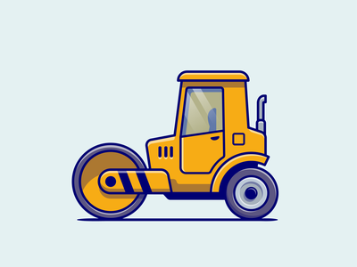 Construction vehicle🚜⛰️ build engineering infrastructure heavy vehicles contractor car building box carrier sand carrier carrier tire construction vehicles construction vehicle logo icon illustration