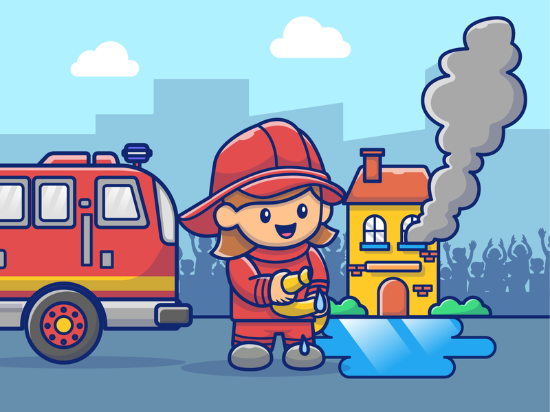 People profession⚽👮🏻♀️👩🏻⚕️ ball players airport employment job cooking fireworks helicopter firefighters hopital doctor nurse pilot chef people professional character logo icon illustration