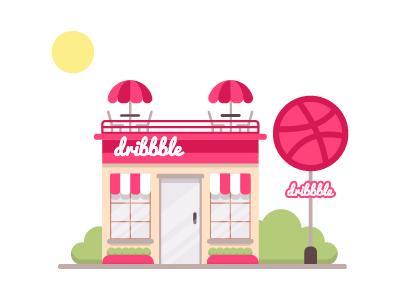 Dribbble Cafe 🏀