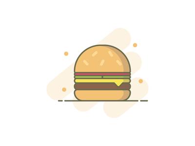 Burger Illustration 🍔