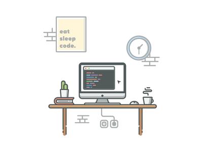 Codingspace Illustration