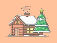 Snow cabin° 🏠🎄