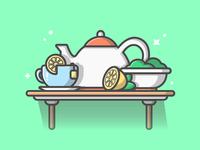 Tea! 😋☕🍋
