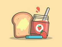Breakfast! 😀🍞