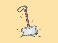 Thor's Hammer (mjolnir) 😋