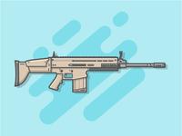 FN - SCAR 🔫😏