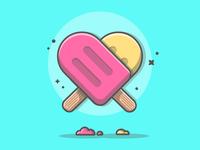 Ice cream! 😏💜