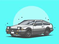 AE86! 🚗💨😝