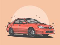 Subaru MRX! (Baby Driver🔥😝)
