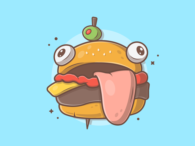 Durr Burger Fornite Skin By Catalyst Dribbble Dribbble